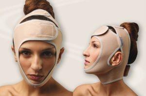 компрессионная маска фото